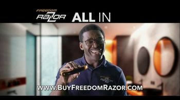 Freedom Razor TV Spot, 'Shave, Trim and Edge All With One Handle' Featuring Michael Irvin