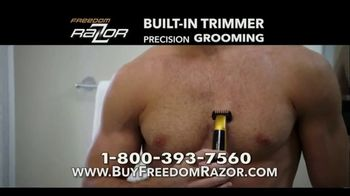 Freedom Razor TV Spot, 'Shave, Trim and Edge All With One Handle' Featuring Michael Irvin - Thumbnail 7