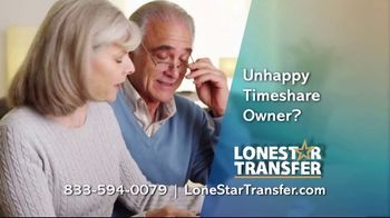 Lonestar Timeshare Transfer TV Spot, 'Unhappy Timeshare Owner' - 114 commercial airings