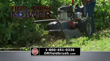 DR Power Equipment Field and Brush Mower TV Spot, 'Job Done Right'
