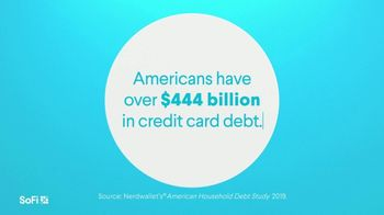 SoFi TV Spot, 'SoFi Members Get Their Credit Card Debit Right: Over $444 Billion in Debt' Song by Labrinth - Thumbnail 1