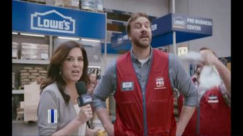 Lowe's TV Spot, 'Pro Services MVP: Ceramic Subway Tile' Featuring Michele Tafoya - Thumbnail 1
