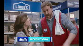 Lowe's TV Spot, 'Pro Services MVP: Ceramic Subway Tile' Featuring Michele Tafoya - Thumbnail 2