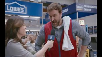 Lowe's TV Spot, 'Pro Services MVP: Ceramic Subway Tile' Featuring Michele Tafoya - Thumbnail 4
