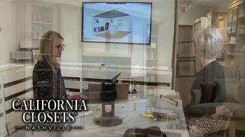California Closets Lighting & Accessories Sales Event TV Spot, 'Nashville: Solutions' - Thumbnail 7