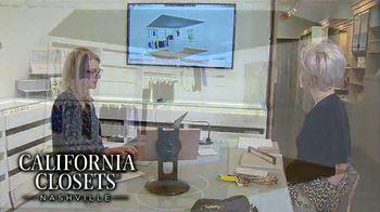 California Closets Lighting & Accessories Sales Event TV Spot, 'Nashville: Solutions' - Thumbnail 8