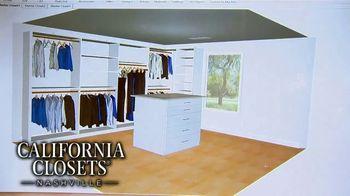 California Closets Lighting & Accessories Sales Event TV Spot, 'Nashville: Solutions' - Thumbnail 9
