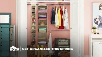 Wayfair TV Spot, 'HGTV: Get Organized This Spring'