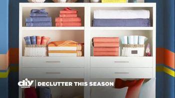 Wayfair TV Spot, 'DIY Network: Declutter This Season' - Thumbnail 1
