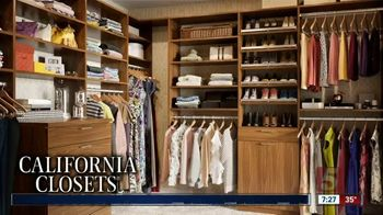 California Closets Lighting & Accessories Sales Event TV Spot, 'Nashville: Organize Your Home' - Thumbnail 1