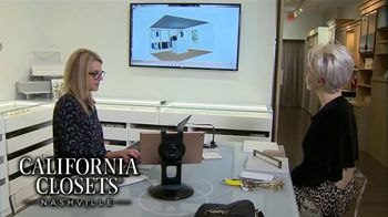 California Closets Lighting & Accessories Sales Event TV Spot, 'Nashville: Organize Your Home' - Thumbnail 8