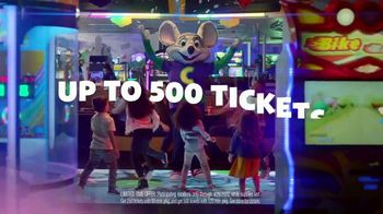 Chuck E. Cheese's All You Can Play TV Spot, 'Tickets Rain From the Sky: 500 Tickets' - Thumbnail 5
