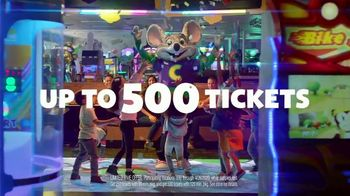Chuck E. Cheese's All You Can Play TV Spot, 'Tickets Rain From the Sky: 500 Tickets' - Thumbnail 6