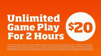 Dave and Buster's Unlimited Game Play TV Spot, 'Just for Fun: 2 Hours' - Thumbnail 4