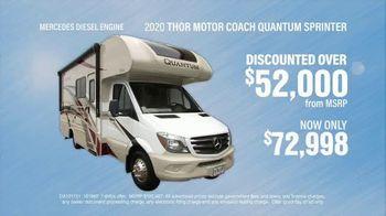 La Mesa RV TV Spot, '2020 Thor Motor Coach Quantum Sprinter: Discounted Over $52,000' - Thumbnail 6