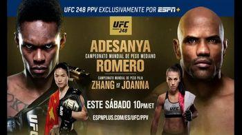 ESPN+ TV Spot, 'UFC 248: Adesanya vs. Romero' [Spanish] - 41 commercial airings