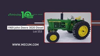 Mecum Gone Farmin' 2020 Spring Classic TV Spot, 'Tractors or Collections' - Thumbnail 6