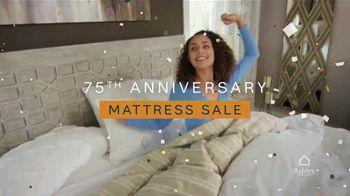 Ashley HomeStore 75th Anniversary Mattress Sale TV Spot, 'King for a Twin: Zero Interest' - Thumbnail 3