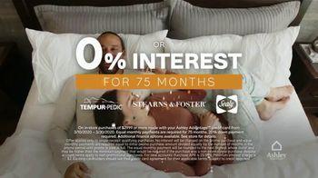 Ashley HomeStore 75th Anniversary Mattress Sale TV Spot, 'King for a Twin: Zero Interest' - Thumbnail 7