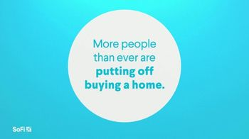 SoFi TV Spot, 'SoFi Members Get Their Dream Home Right: More Are Putting Off Buying a Home' Song by Labrinth - Thumbnail 1