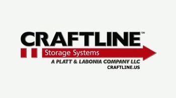 Platt & LaBonia Company LLC Craftline Storage System TV Spot, 'Proudly Made in the USA' - Thumbnail 9