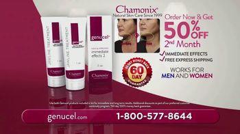 Chamonix Skin Care Genucel Jawline Treatment TV Spot, 'Make Them Dissapear' - Thumbnail 10