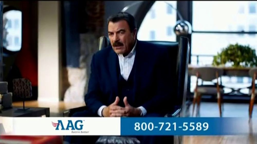 AAG Reverse Mortgage TV Commercial, 'Homework' Featuring Tom Selleck