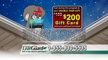LeafGuard of Nashville Winter Half Off Sale TV Spot, 'Double Your Gift' - Thumbnail 8