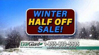 LeafGuard of Nashville Winter Half Off Sale TV Spot, 'Double Your Gift' - Thumbnail 4