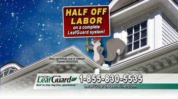 LeafGuard of Nashville Winter Half Off Sale TV Spot, 'Double Your Gift' - Thumbnail 5