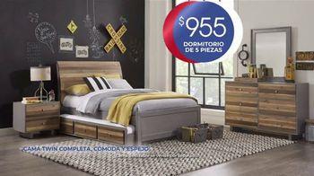Rooms to Go Kids Venta de Anivesario TV Spot, 'Dormitorio' cancion de Junior Senior [Spanish] - Thumbnail 3