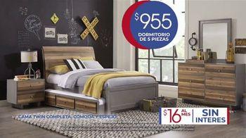 Rooms to Go Kids Venta de Anivesario TV Spot, 'Dormitorio' cancion de Junior Senior [Spanish] - Thumbnail 4