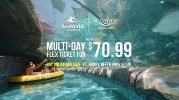 SeaWorld TV Spot, 'Texas Stingray: Multi-Day Flex Ticket' - Thumbnail 7
