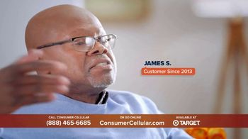 Consumer Cellular TV Spot, 'Super Real: Plans $20+ a Month: 50 Big Ones' - Thumbnail 2