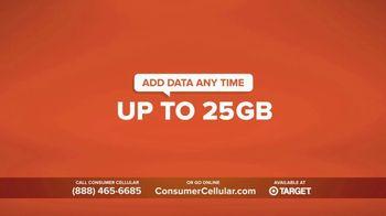 Consumer Cellular TV Spot, 'Super Real: Plans $20+ a Month: 50 Big Ones' - Thumbnail 3