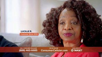 Consumer Cellular TV Spot, 'Super Real: Plans $20+ a Month: 50 Big Ones' - Thumbnail 4