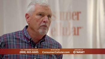 Consumer Cellular TV Spot, 'Super Real: Plans $20+ a Month: 50 Big Ones' - Thumbnail 5