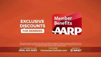 Consumer Cellular TV Spot, 'Super Real: Plans $20+ a Month: 50 Big Ones' - Thumbnail 8
