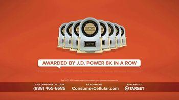 Consumer Cellular TV Spot, 'Super Real: Plans $20+ a Month: 50 Big Ones' - Thumbnail 9