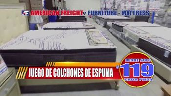 American Freight Gran Venta de Reembolso de Impuestos TV Spot, 'Lléveselo a casa hoy' [Spanish]