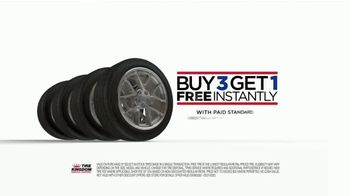 Tire Kingdom TV Spot, 'Bald: Buy Three, Get One Free and Rebate' - Thumbnail 6