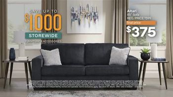 Ashley HomeStore 75th Anniversary Sale TV Spot, '$1,000 Off + Hot Buys' Song by Midnight Riot - Thumbnail 4