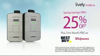 GreatCall Lively Mobile Plus TV Spot, 'Spring Savings Offer: Dancing: Mom Is 81' - Thumbnail 8