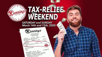 Runnings Tax Relief Sale TV Spot, 'Instant Discount' - Thumbnail 4