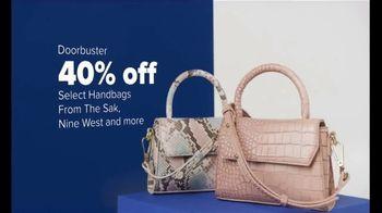 Belk Anniversary Sale TV Spot, 'Chaps, Shoes and Handbags'