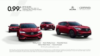 Acura Certified Pre-Owned Program TV Spot, 'Proof in the Performance' [T2] - Thumbnail 9