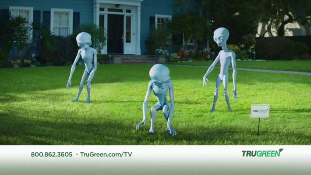 TruGreen TV Commercial, 'Aliens: 50 Percent Off First Service'