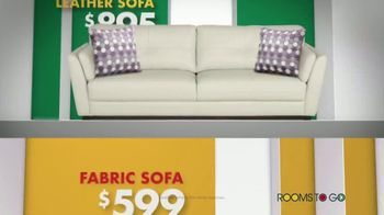 Rooms to Go Anniversary Sofa Sale TV Spot, 'Every Sofa' Song by Junior Senior