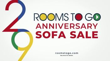 Rooms to Go Anniversary Sofa Sale TV Spot, 'Every Sofa' Song by Junior Senior - Thumbnail 9