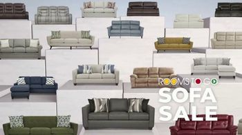 Rooms to Go Anniversary Sofa Sale TV Spot, 'Every Sofa' Song by Junior Senior - Thumbnail 3